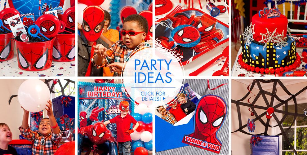 Spider-Man – Party Ideas