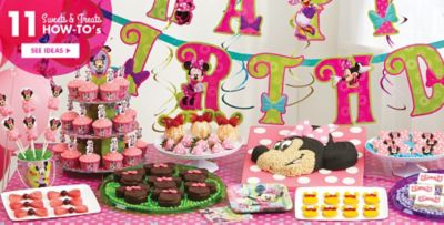 Minnie Mouse Party Supplies Minnie Mouse Birthday Ideas Party City