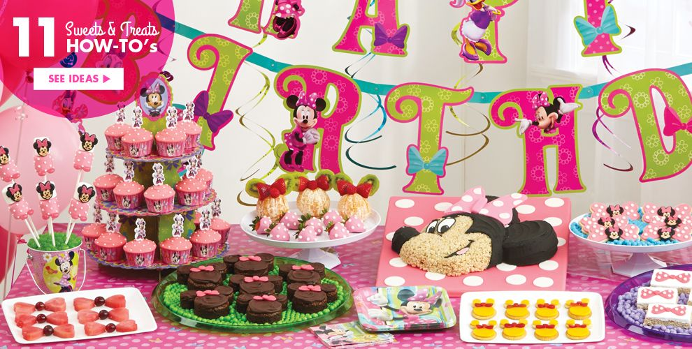 Minnie Mouse Party Supplies #4