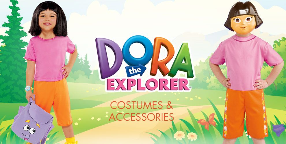 Dora the Explorer Party Supplies – Costumes