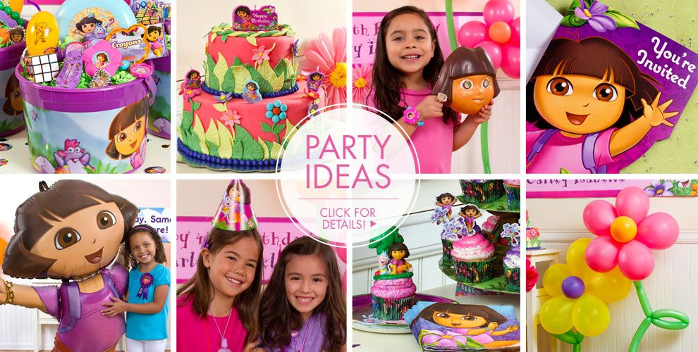 Dora the Explorer Party Supplies – Party Ideas