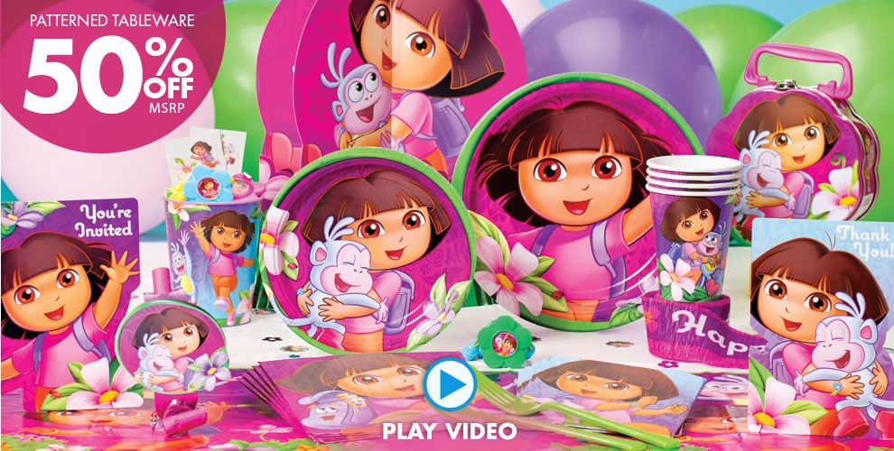 Dora the Explorer Party Supplies #1