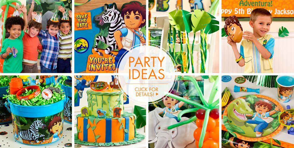 Go Diego Go – Party Ideas