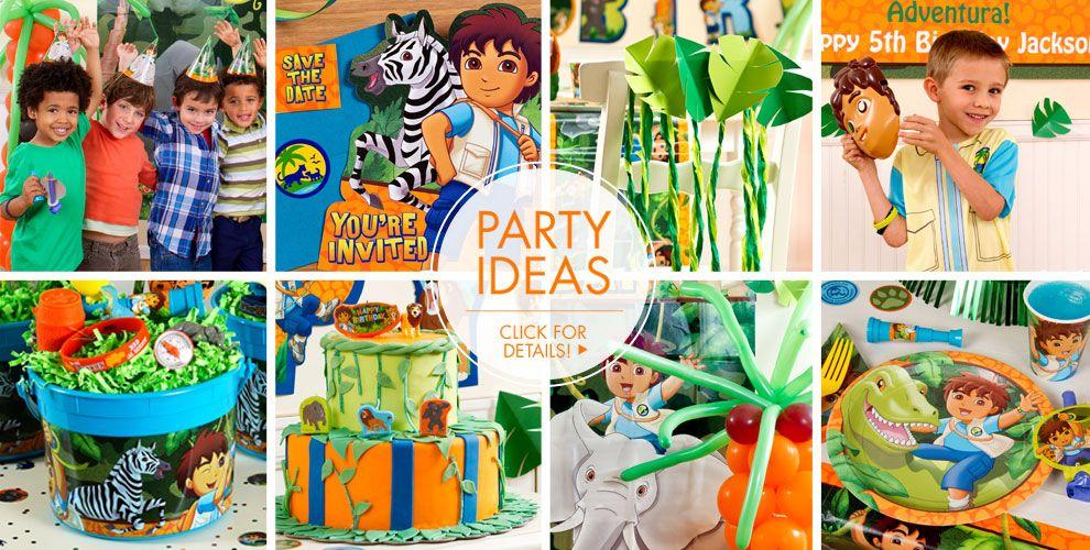 Go Diego Go – Party Ideas