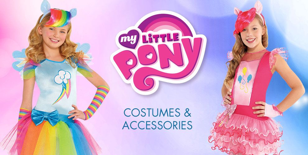 My Little Pony Party Supplies – Costumes