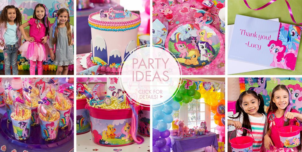 My Little Pony Party Supplies – Party Ideas