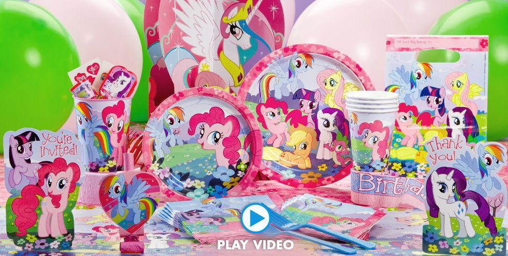 My Little Pony Party Supplies #1