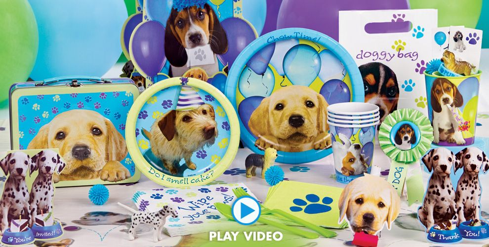 Party Pups Party Supplies #1