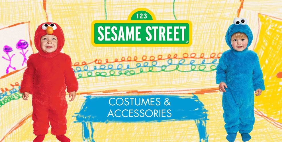 Elmo Party Supplies – Costumes