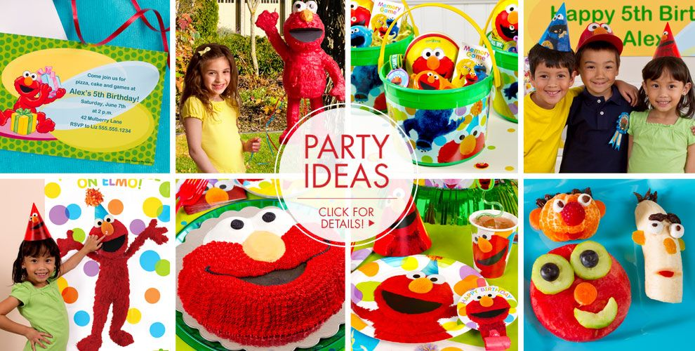 Elmo Party Supplies – Party Ideas