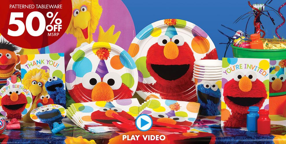 Elmo Party Supplies #1