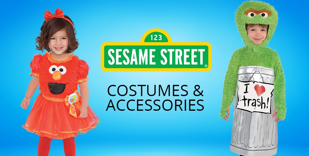 Sesame Street Party Supplies – Costumes