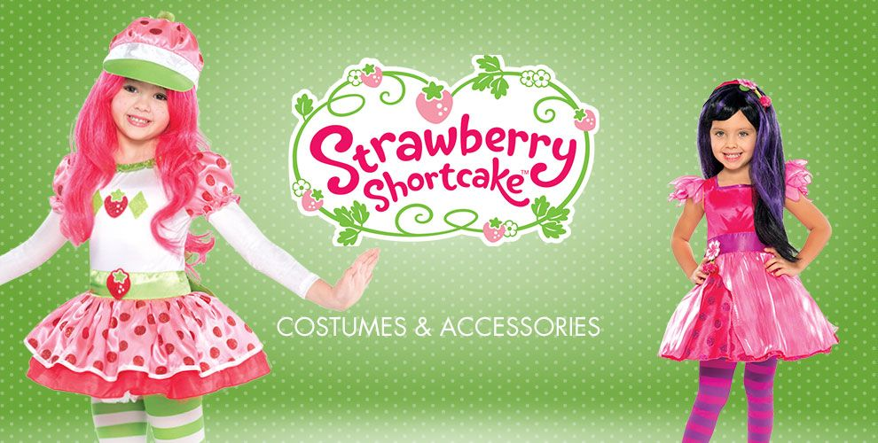 Strawberry Shortcake Party Supplies – Costumes