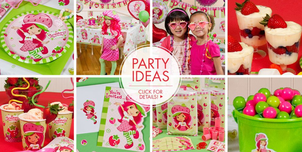 Strawberry Shortcake Party Supplies – Party Ideas