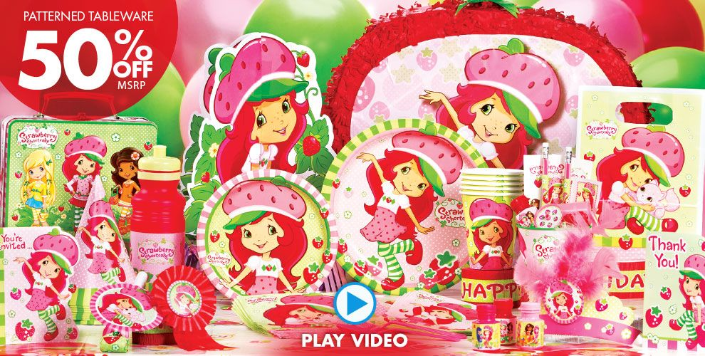 Strawberry Shortcake Party Supplies #1