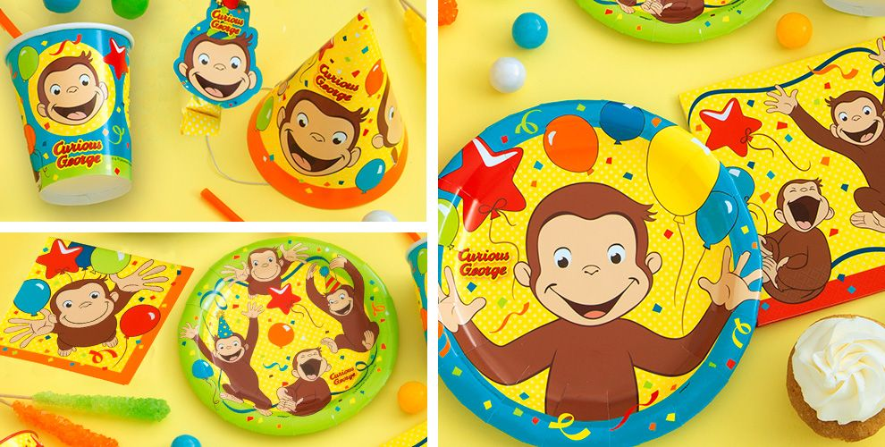 Curious George Party Supplies Birthday
