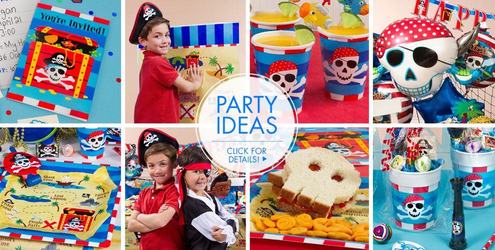 Pirate's Treasure – Party Ideas