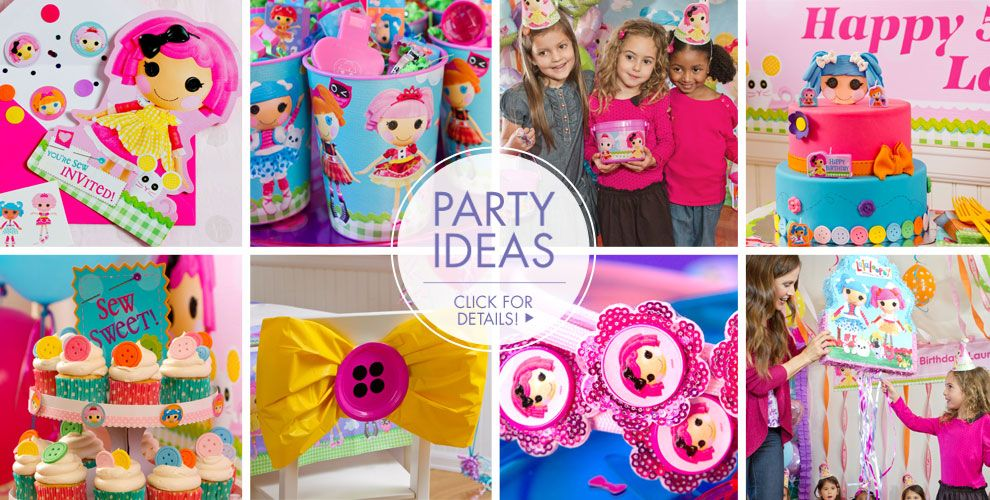 Lalaloopsy Party Supplies – Party Ideas