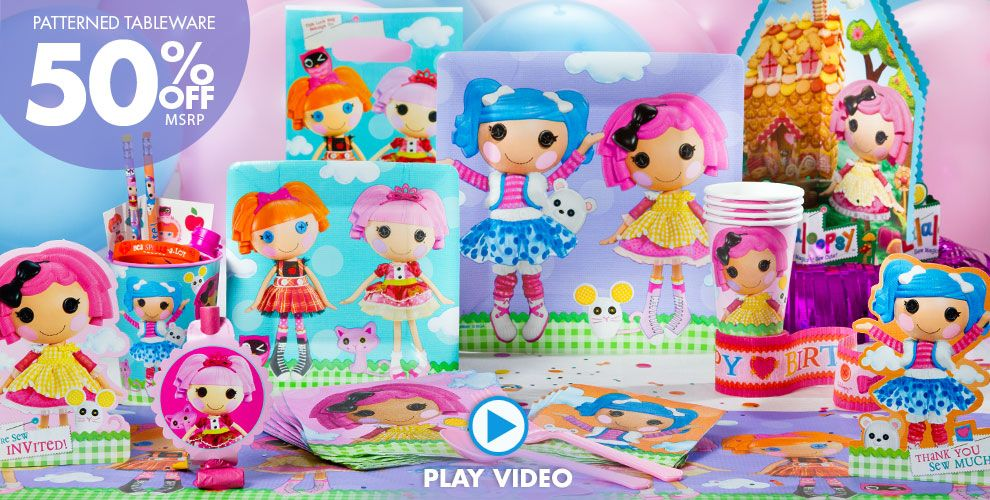 Lalaloopsy Party Supplies #1