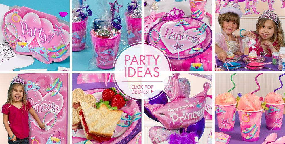 Princess Party Supplies – Party Ideas