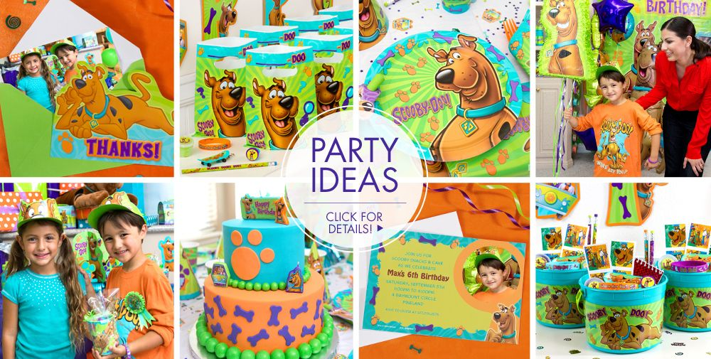 Scooby-Doo Party Supplies #3