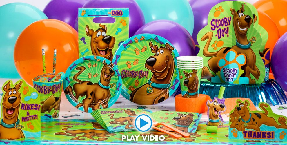 Scooby Doo Party Supplies Scooby Doo Birthday Party City – Scooby Doo Party Invitations
