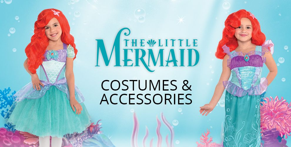 Little Mermaid Party Supplies – Costumes