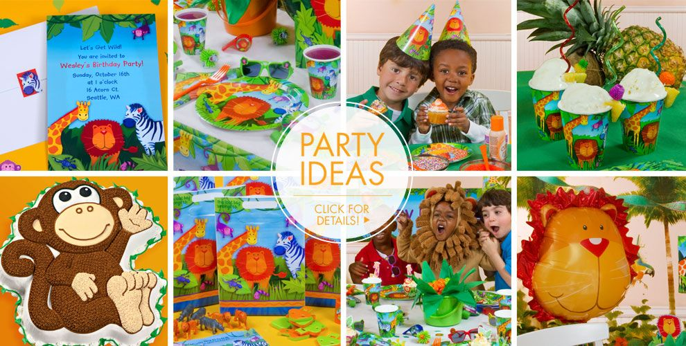 Jungle Animals – Party Ideas