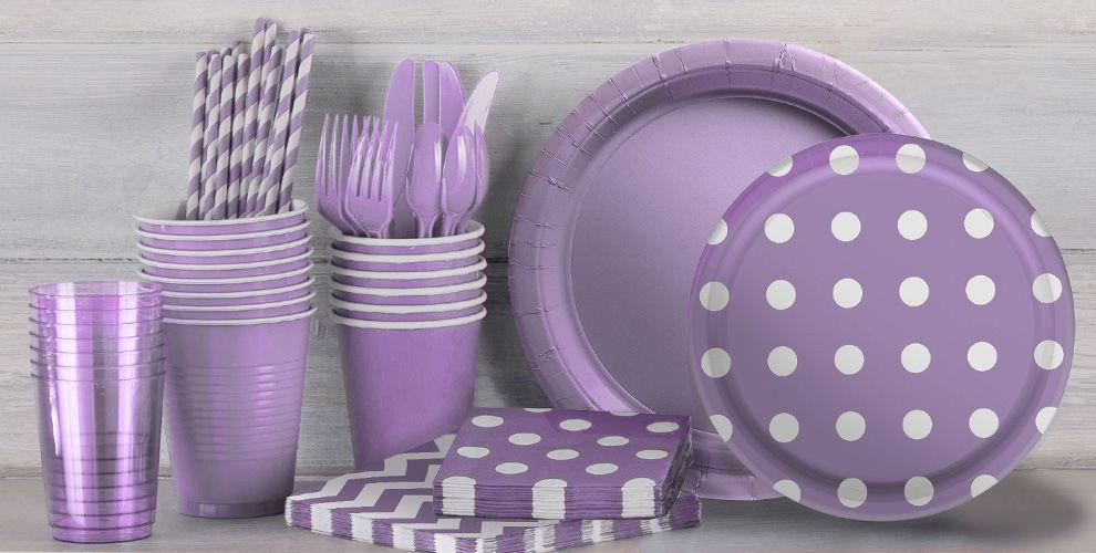 Lavender Dot Family