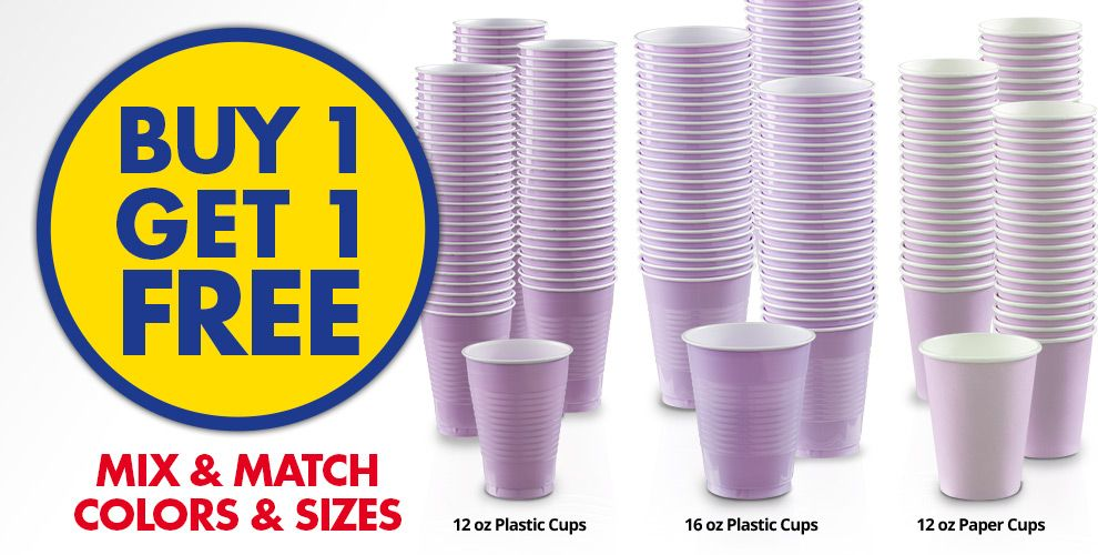 Buy 1 Get 1 Free – Mix & Match Colors &amp Sizes — Lavender Tableware