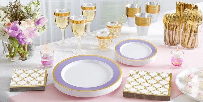 Lavender Tableware #1