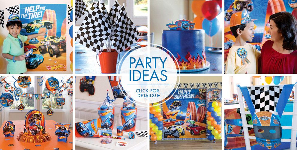 Hot Wheels – Party Ideas