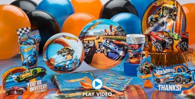 Hot Wheels Party Supplies Boys Party Themes Boys Birthday