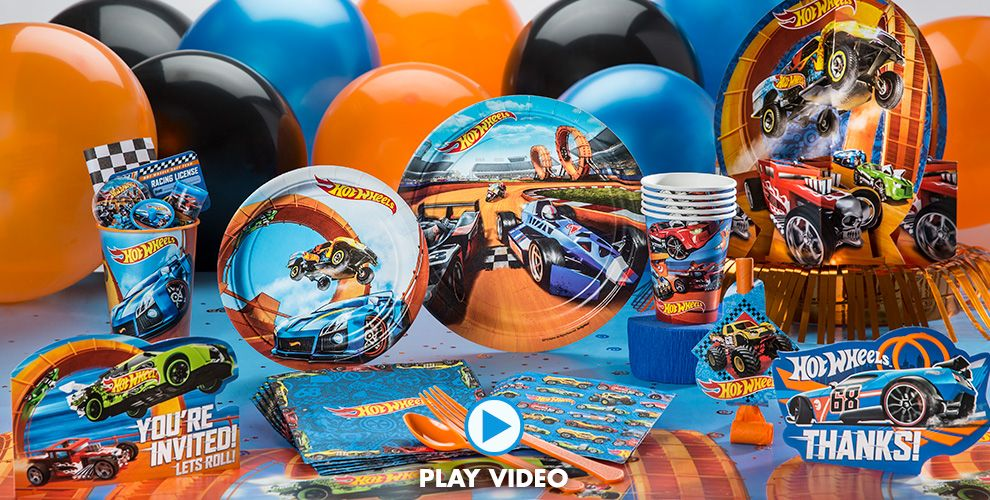 Hot Wheels Party Supplies #1
