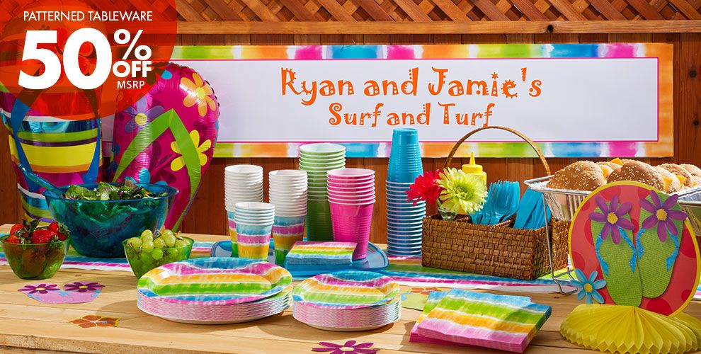 Summer Lovin' Party Supplies #1