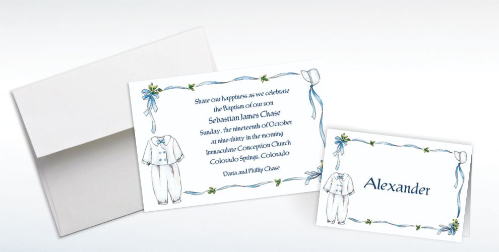 Baptism Invitations & Banners