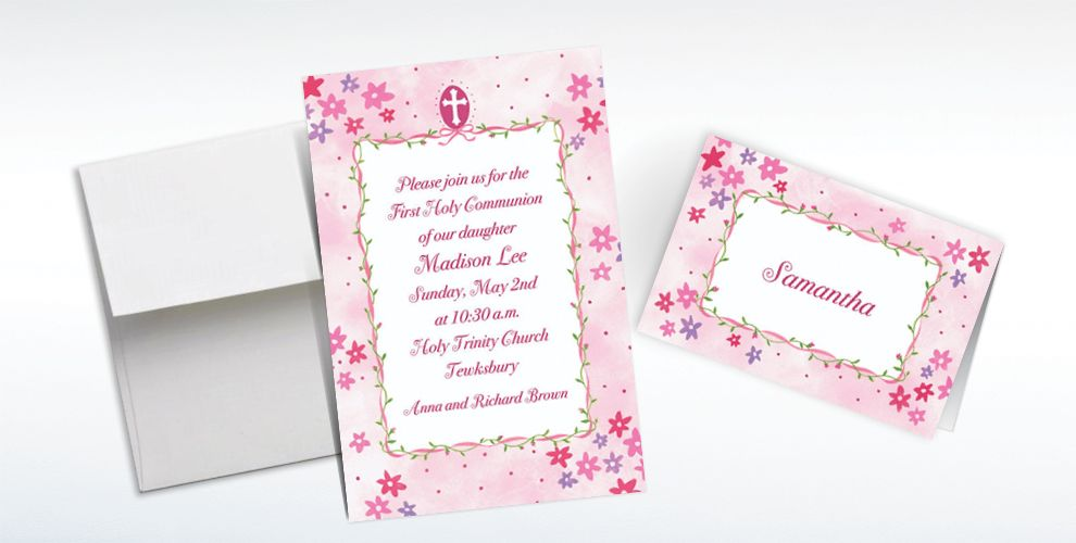 Confirmation Invitations & Banners