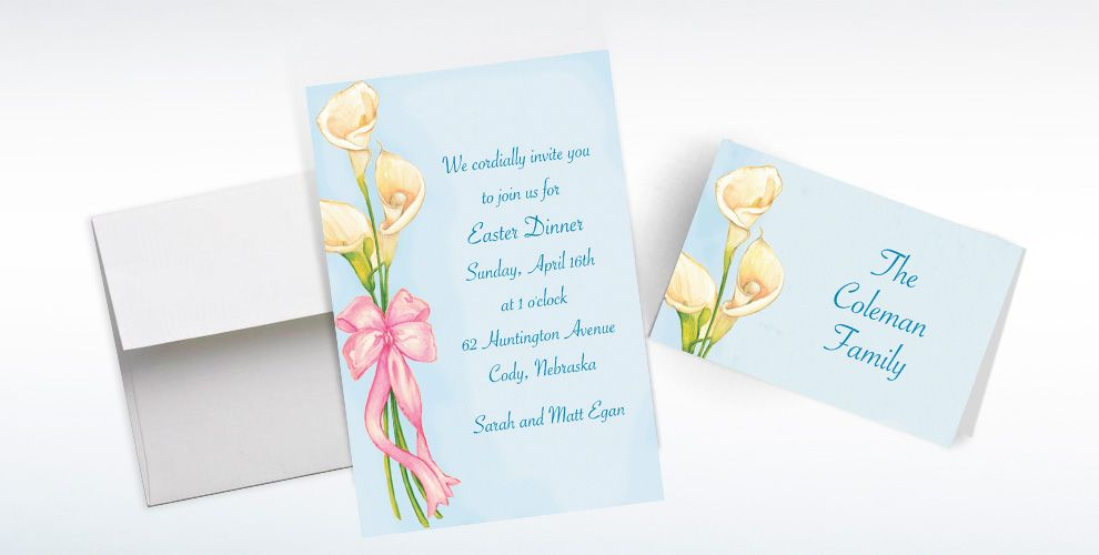 Spring Custom Invitations & Thank You Notes
