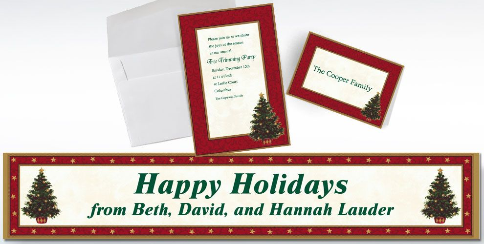 Christmas Invitations & Thank You Notes