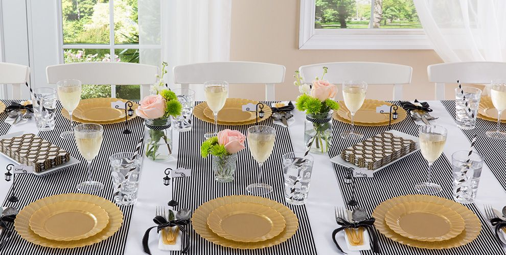 Gold Tableware Gold Party Supplies Party City