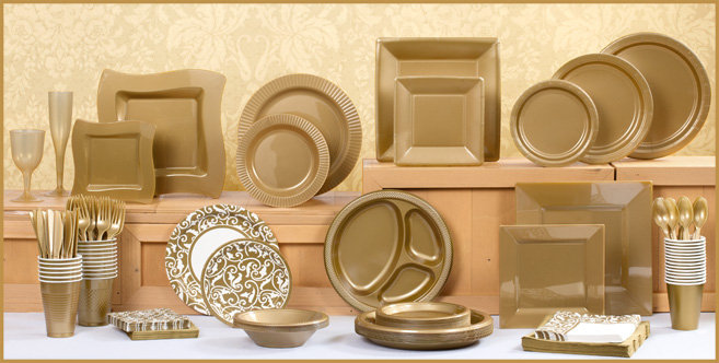 solid gold tableware #1