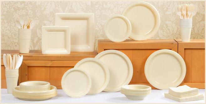 solid vanilla tableware #1
