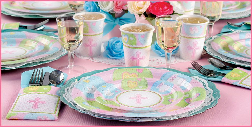 Pink Sweet Religious Party Supplies