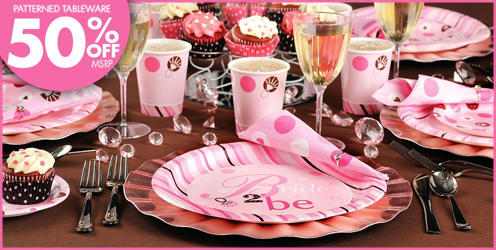 Bride to Be Bridal Shower Party Suppliers