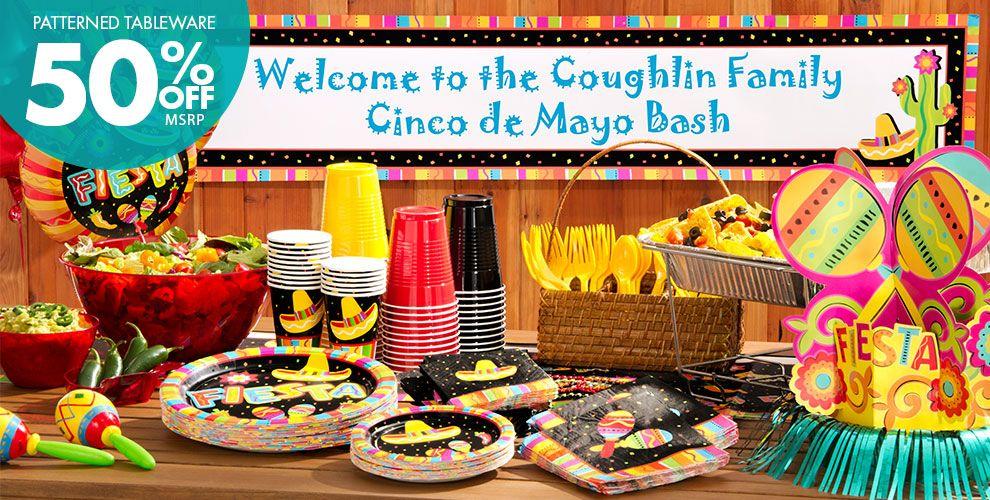 Fiesta Fun Party Supplies