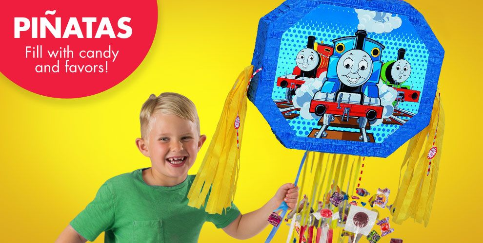 Thomas the Tank Engine Pinatas