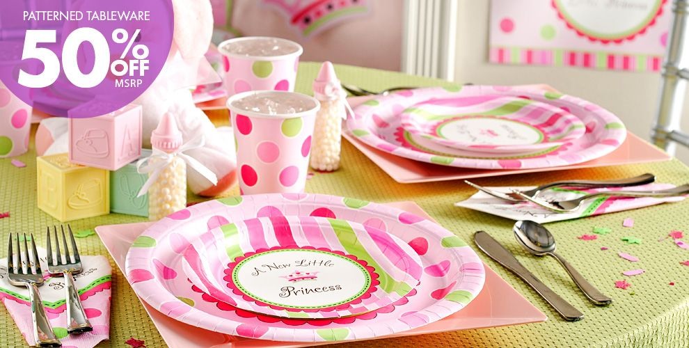 Baby Shower: Little Princess Party Supplies