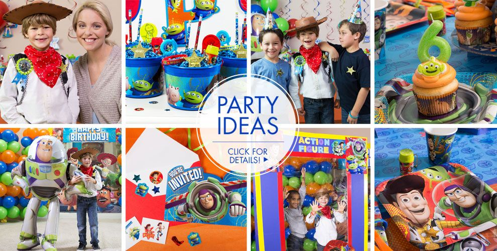 Toy Story Party Ideas Decorations : Toy story party supplies birthday city