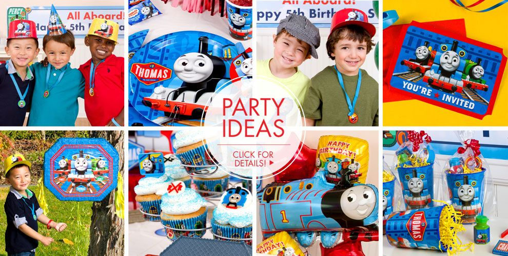 Thomas the Tank Engine – Party Ideas