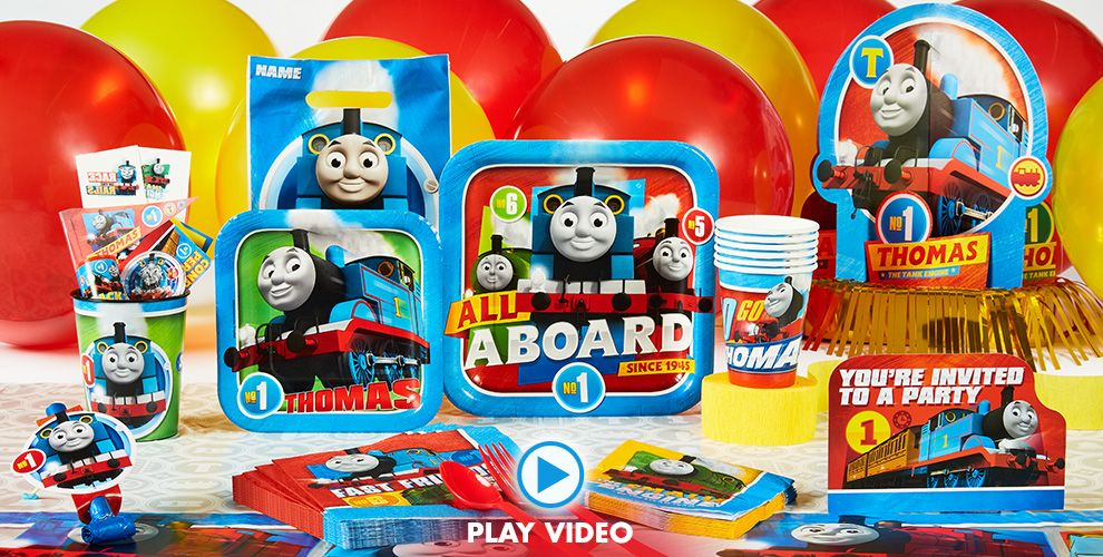 Thomas the Tank Engine Party Supplies #1